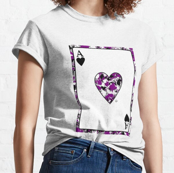 Ace of Hearts - Asexual Classic T-Shirt