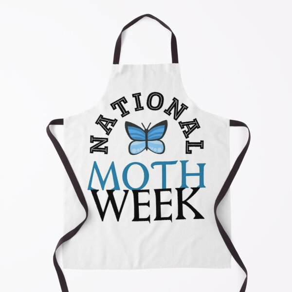 national moth week Apron