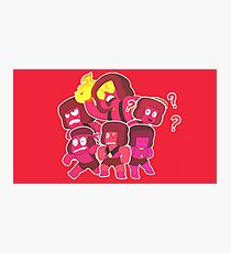 Hit The Diamond - Ruby Squad Photographic Print
