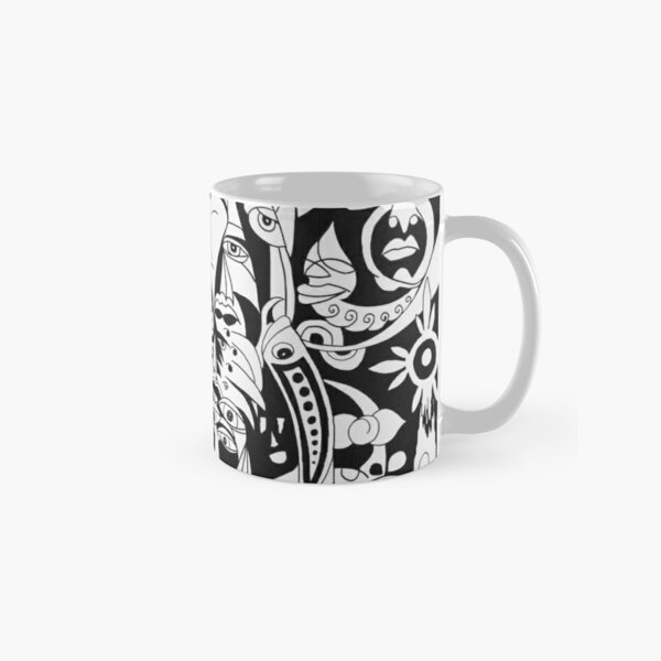 Patience - Black and White Classic Mug
