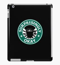 Sherlock's Coffee (Surprisingly Okay) iPad Case/Skin