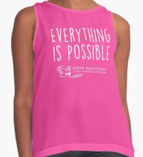 Everything is possible t-shirt Contrast Tank