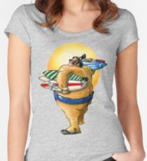 Sumo Surfer II Women's Fitted Scoop T-Shirt