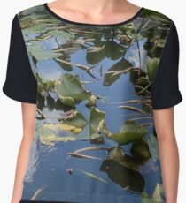 Lakeside Lily Pads Women's Chiffon Top