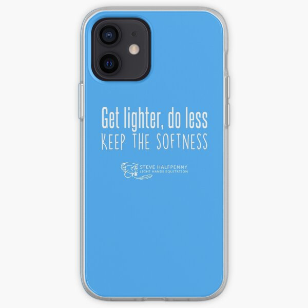 Get lighter, do less Keep the softness t-shirt iPhone Soft Case