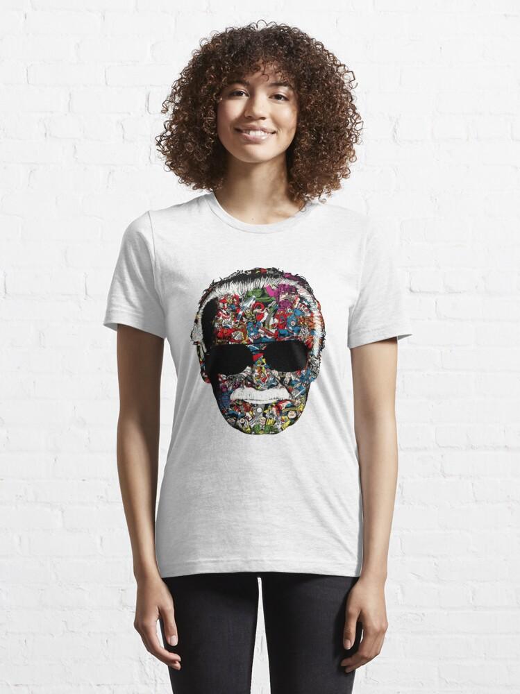 Alternate view of Legend Stan Lee! Essential T-Shirt