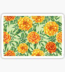 Marigold Pattern Sticker