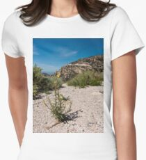 Wildflowers Along Sky Island Scenic Byway to Mt. Lemmon Women's Fitted T-Shirt