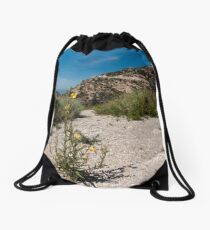 Wildflowers Along Sky Island Scenic Byway to Mt. Lemmon Drawstring Bag