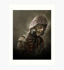 Arkham Scarecrow Art Print