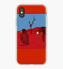 Vulture Song - Bear VS Rhino  iPhone Case