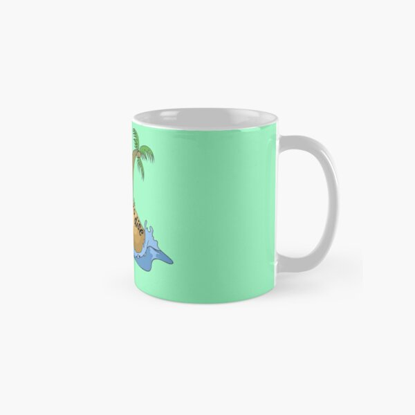 Poisoned in Paradise Cozy Murder Mystery Palm Tree and Island Classic Mug