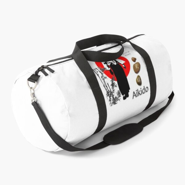 Aikido The Art of Peace Duffle Bag
