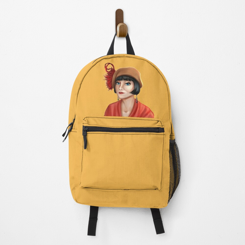 Miss Phryne Fisher Honourable Lady Detective and Cozy Mystery Amateur Sleuth Backpack