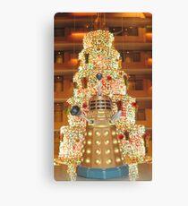 Dalek Christmas Canvas Print