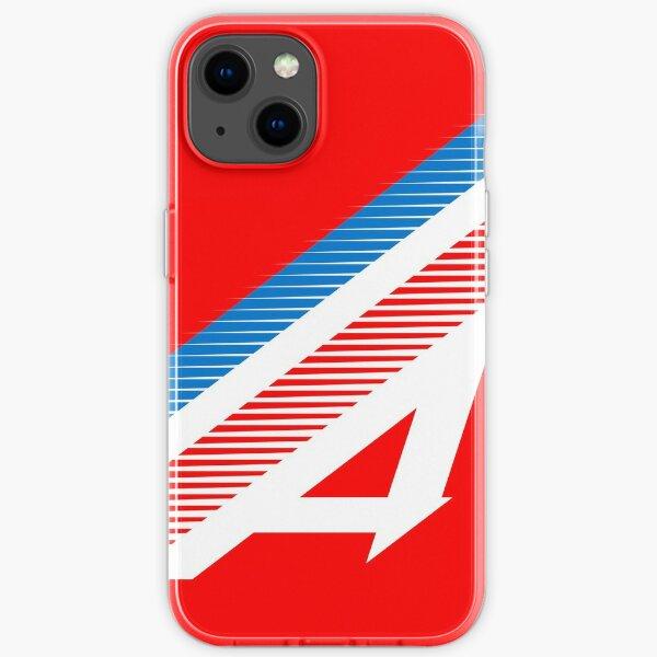 Decoración del equipo Alpine Racing F1 Funda blanda para iPhone