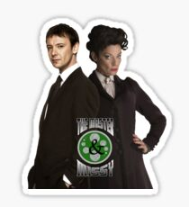 The Master & Missy: The Perfect Couple Sticker