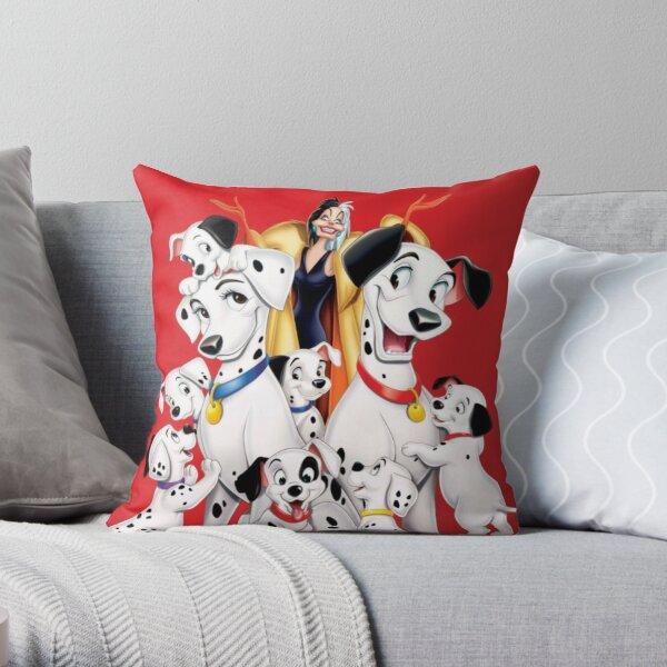 101 dalmatians Throw Pillow
