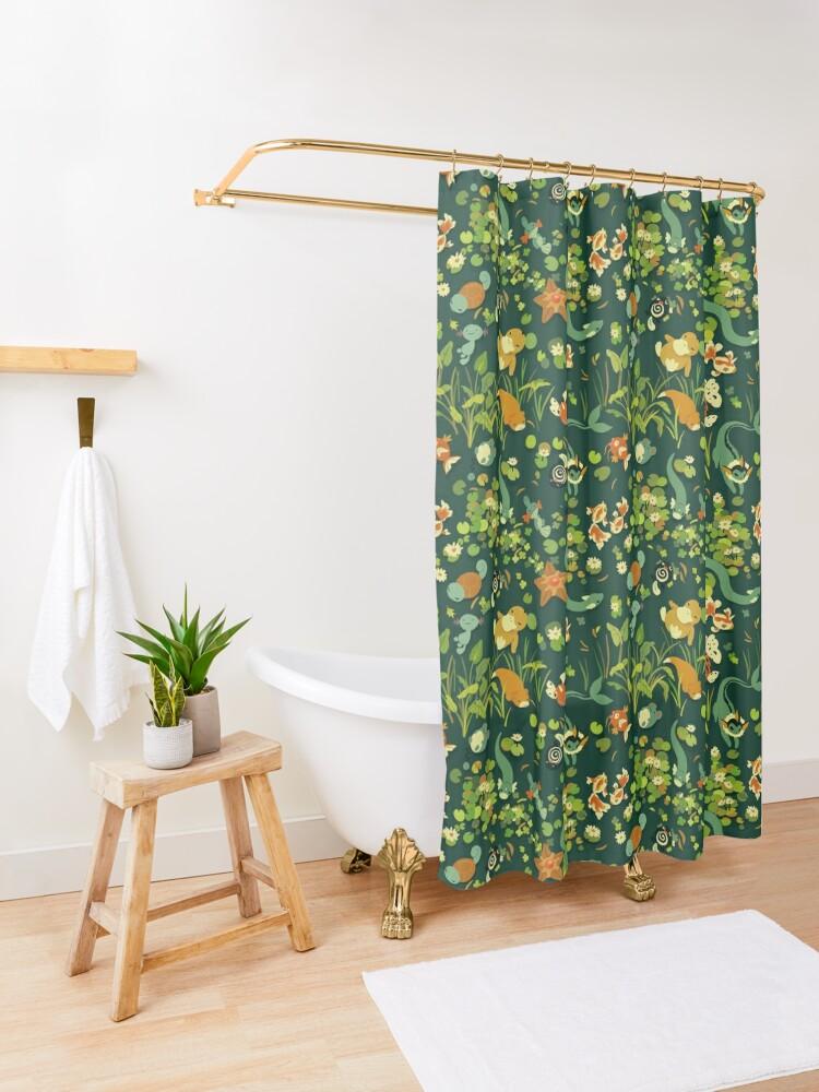 Alternate view of Whirlpool Shower Curtain
