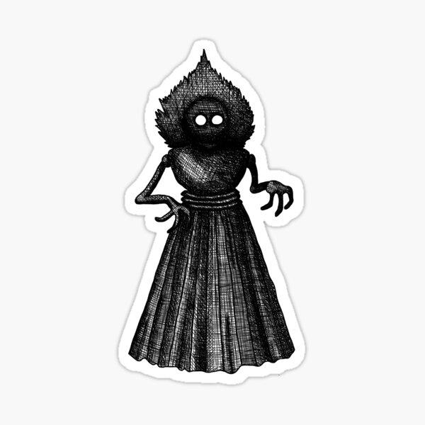 Flatwoods Monster Sticker