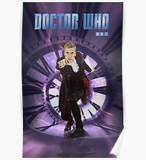 Crouching Capaldi Poster