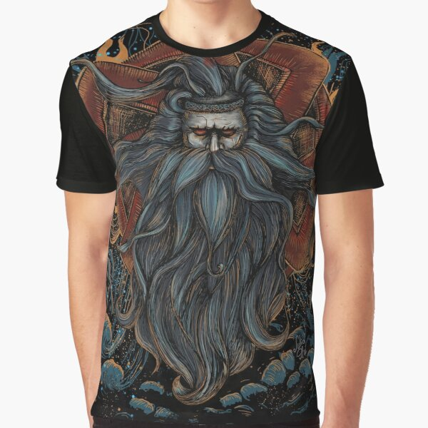 Svarog - the Slavic God of heavenly fire. Graphic T-Shirt