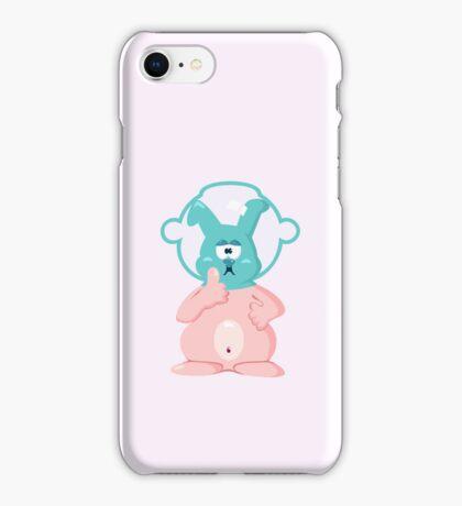 Diver bunny VRS2 iPhone Case/Skin