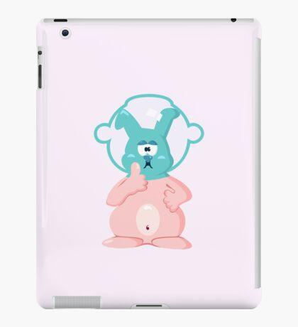 Diver bunny VRS2 iPad Case/Skin