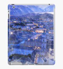 Salzburg Night Lights Print iPad Case/Skin