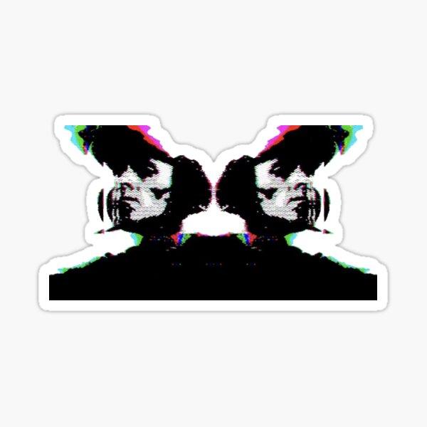 Heron Stencil  Sticker
