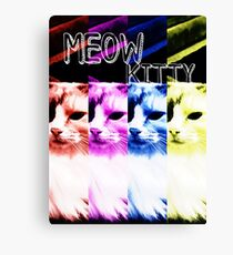 Meow Kitty Canvas Print