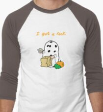 I got a rock. Men's Baseball ¾ T-Shirt