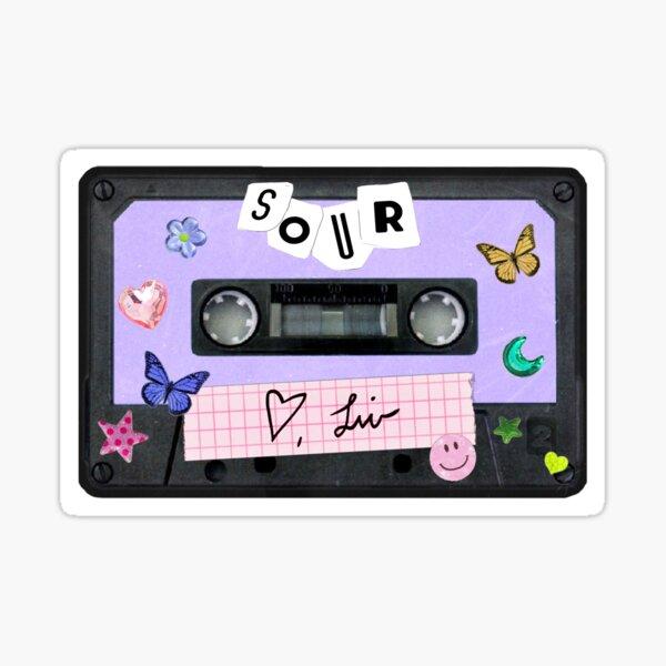 Olivia Rodrigo Sour Cassette Sticker