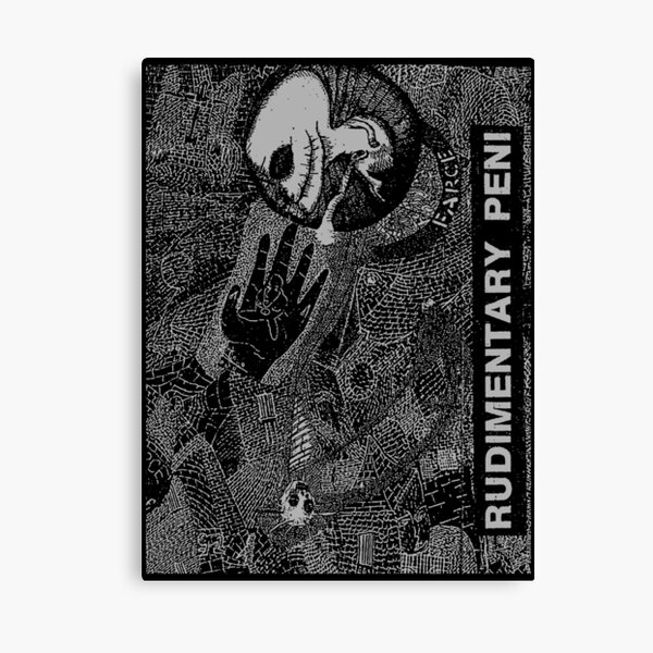 Rudimentary Peni Canvas Print