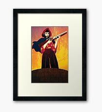 Show Me How To Kill A God Framed Print