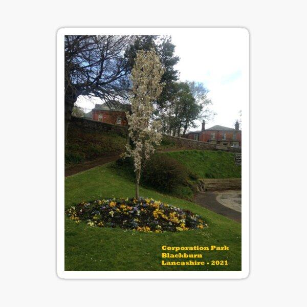 Corporation Park - Blackburn- Lancashire - 2021 Sticker