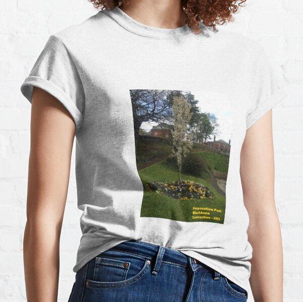 Corporation Park - Blackburn- Lancashire - 2021 Camiseta clásica