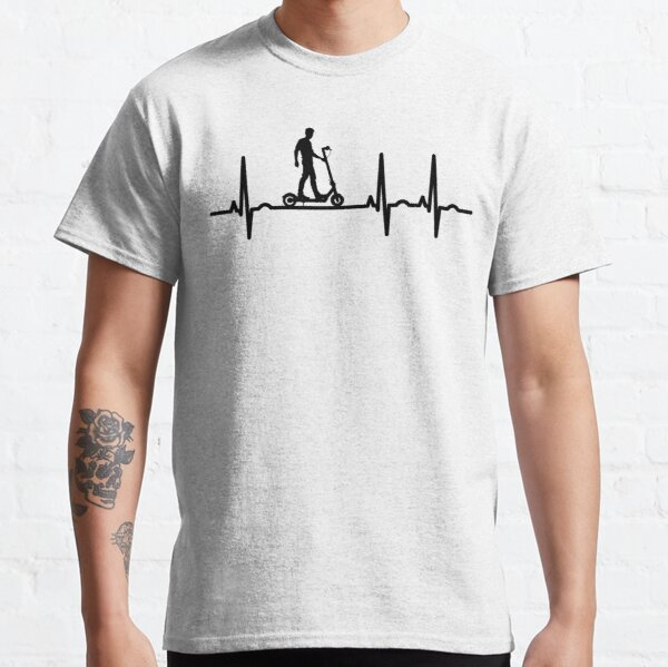Funny Novelty T-Shirt Mens tee TShirt Evo Scooter