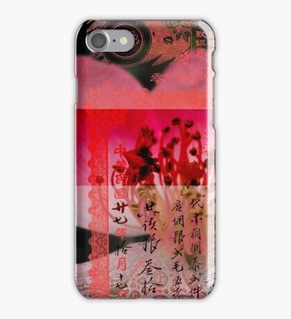 Translucent Layers Rose Blossoms Magnify iPhone Case/Skin