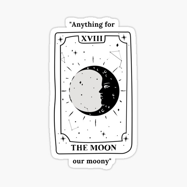 Anything for our moony ATYD sticker Sticker