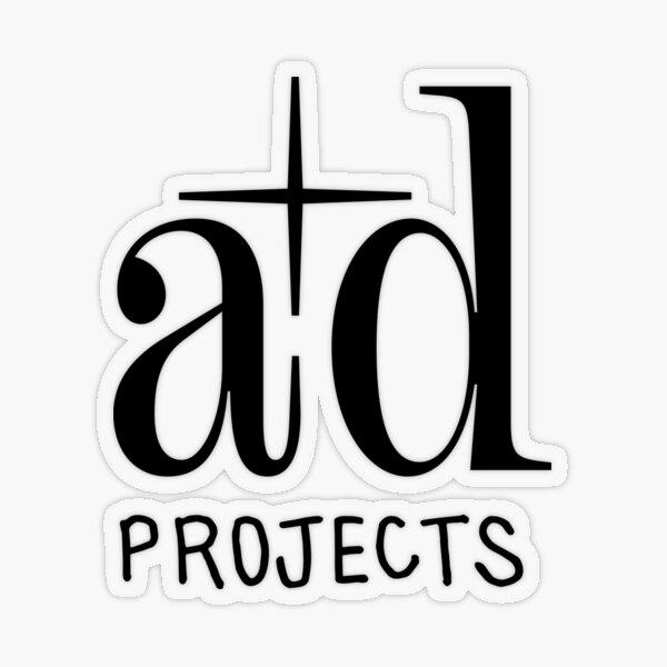 A+D Logo Transparent Sticker