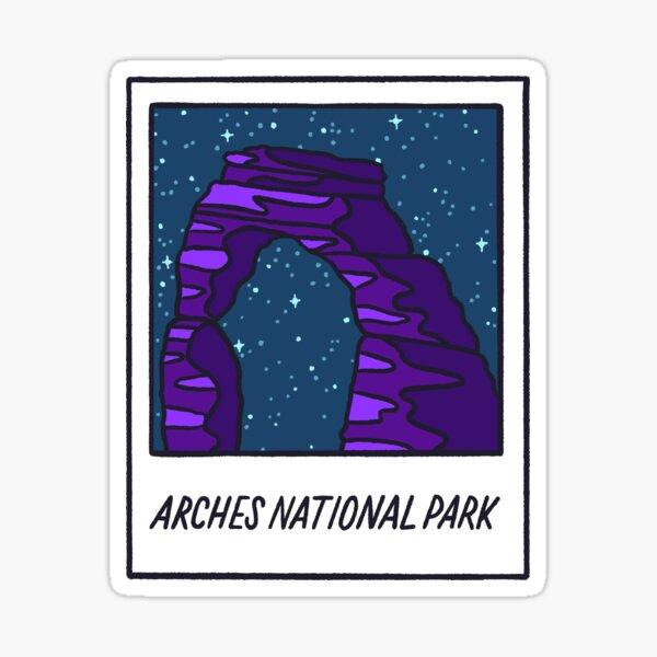 Arches National Park Polaroid Sticker