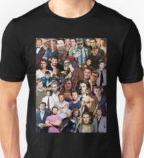 Chris Hemsworth Collage  Unisex T-Shirt