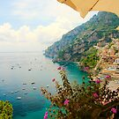 Relaxing in Positano by Barbara  Brown