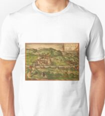 Baden Vintage map.Geography Germany ,city view,building,political,Lithography,historical fashion,geo design,Cartography,Country,Science,history,urban T-Shirt