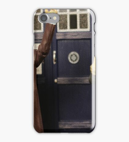 """""""Out of the frying pan and into the fire eh Clara?"""" iPhone Case/Skin"""