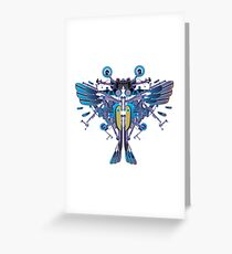 Birdterfly rider Greeting Card