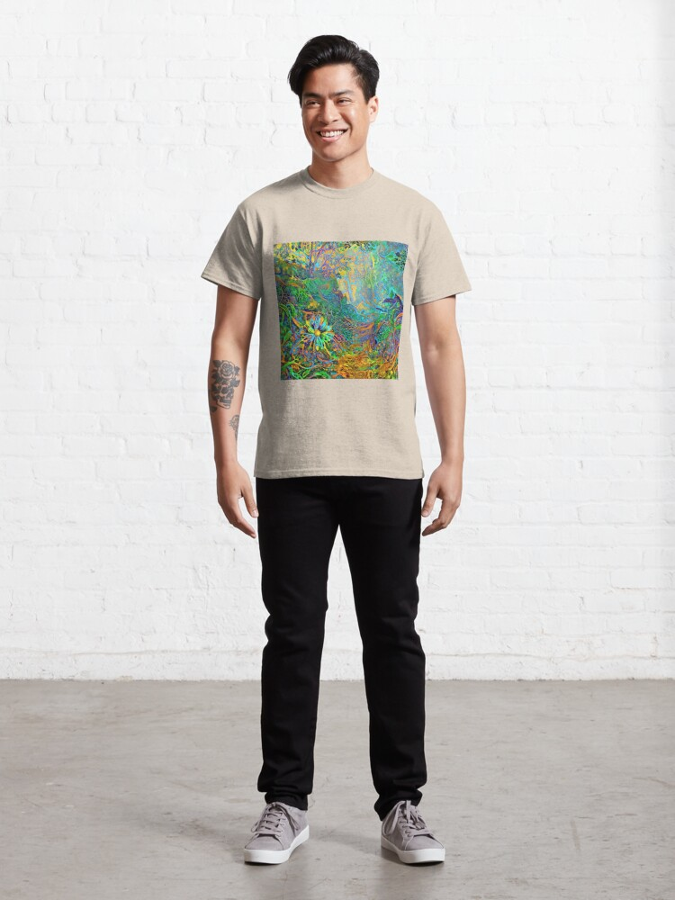 Alternate view of DeepStyle abstraction Classic T-Shirt