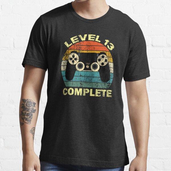 Nivel 13 completo / 13 ° regalo de cumpleaños Camiseta esencial