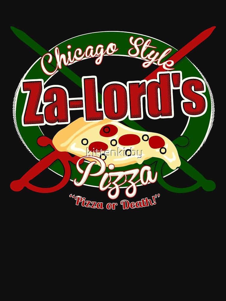 Pizza or Death!   Unisex T-Shirt